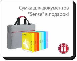 При покупке бумаги Maestro Color - сумка